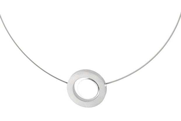 Collier Rondje in een ring C12
