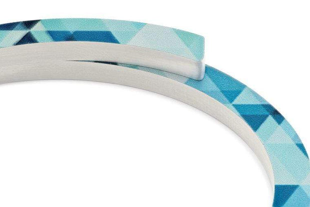 Armband Blauw Patroon A30