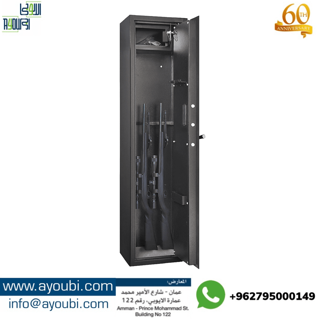 Ayoubi Weapons and Gun Cabinet - Model GSF-K-5 - Ayoubi Steel Furniture Factory