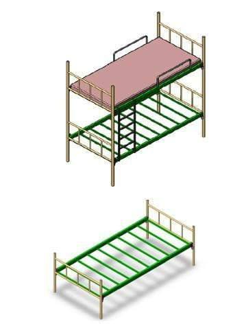 Ayoubi Steel Custom Made Products - Bunk Beds - Ayoubi Steel Furniture Factory