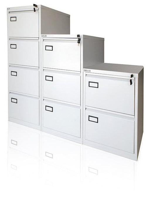 Ayoubi 2-3-4 Drawer Filing Cabinets - Model No. 102 - Ayoubi Steel Furniture Factory