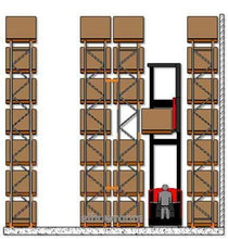 Load image into Gallery viewer, Ayoubi Heavy-Duty Racking - Narrow Aisle Pallet Racking System - Ayoubi Steel Furniture Factory