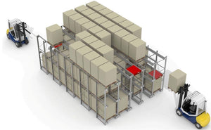 Ayoubi Heavy-Duty Racking - Pallet Shuttle - Ayoubi Steel Furniture Factory