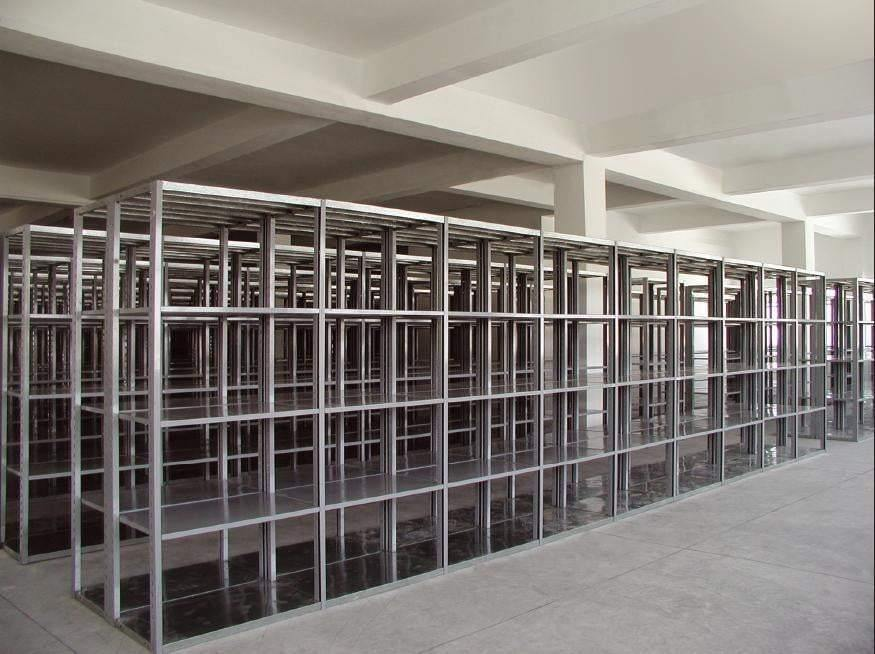 Ayoubi Boltless Shelving System - Upright - Model No. SBU250 - Ayoubi Steel Furniture Factory