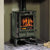 Brunel 2CB Woodburning Stove. Wood Burner, Multifuel Stove