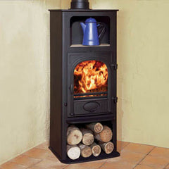 Stockton 6 Highline Woodburning Stove. Wood Burner, Multifuel Stove