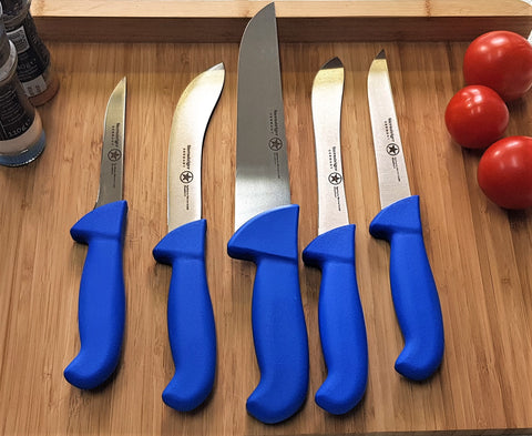 Butcher Knife Professional Set / Metzgermesser Set
