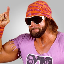 How to tie a bandana like a Macho Man
