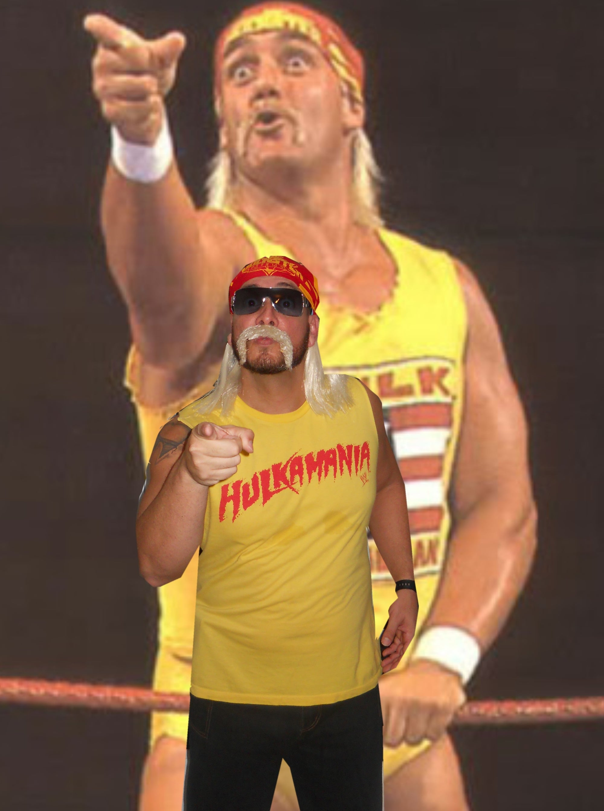 Halloween Costume 201 - Hulk Hogan