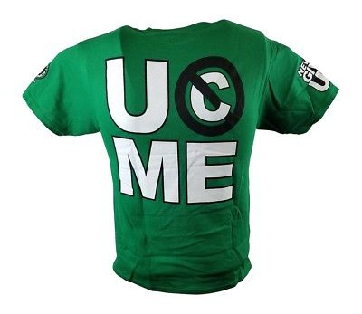 John Cena Green Kids Salute the Cenation T-shirt Boys