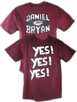 Daniel Bryan Yes Yes Yes Mens Red T-shirt