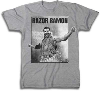 Razor Ramon Oozing Machismo WWE Mens T-shirt