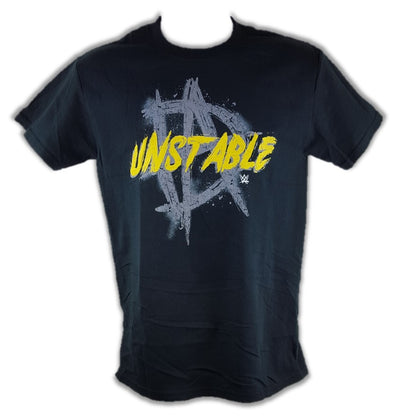 Dean Ambrose Unstable WWE Mens Black T-shirt