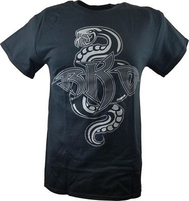 Randy Orton Recoiled RKO Mens Black T-shirt