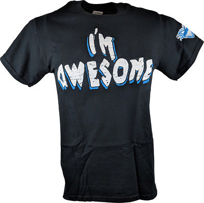 The Miz I'm Awesome Blue Black Mens T-shirt