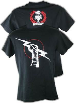 CM Punk Aftershock Black Mens T-shirt