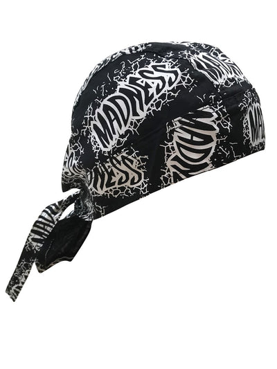 Bandana Skull Cap Doo Rag for Macho Man Randy Savage Costume