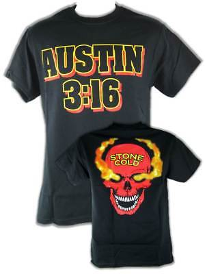 Stone Cold Steve Austin 3:16 Red Skull Mens T-shirt