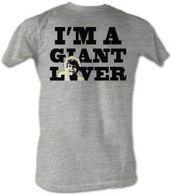 Andre the Giant I'M A GIANT LOVER Lightweight Gray Legends T-shirt New