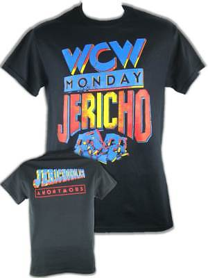 Chris Jericho WCW Jericholic Mens Black T-shirt