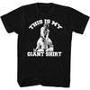 This is my GIANT SHIRT Andre Lightweight Black T-shirt New