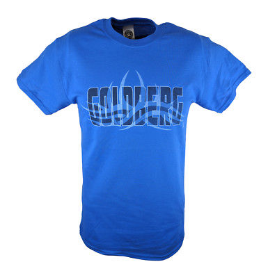 Bill Goldberg Royal Blue WWE Mens T-shirt