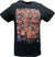 Full WWE Roster John Cena Brock Lesnar Triple H Group Mens Black T-shirt