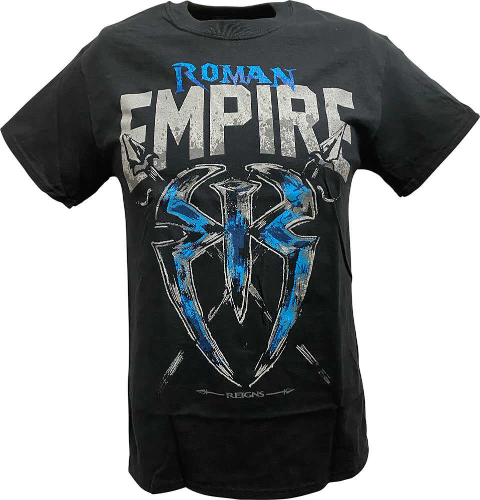 Roman Reigns Empire Spare No One Spear Everyone Mens T-shirt