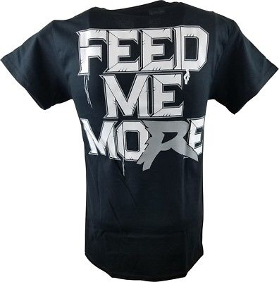 Ryback Feed Me More Mens Black T-shirt