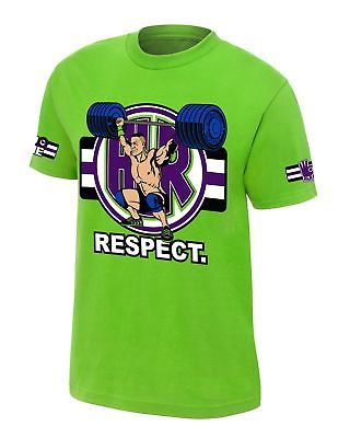 John Cena Cenation Respect Green Boys Kids T-shirt
