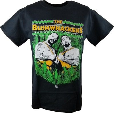 The Bushwackers WWE Mens Black T-shirt