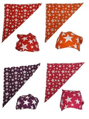 Colored Stars Bandana for Macho Man Costume