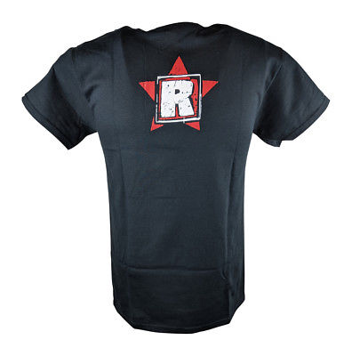 Edge Rated R Superstar Rise Above Mens Black T-shirt