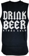 Stone Cold Steve Austin Drink Beer F Fear Sleeveless Muscle T-shirt