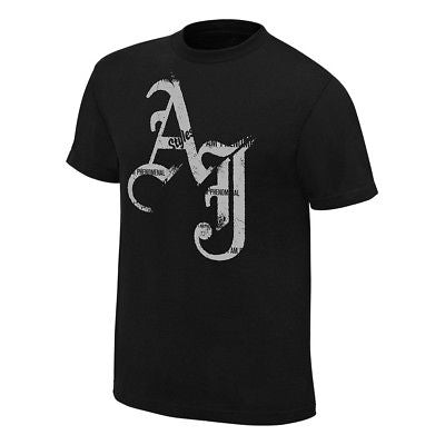 AJ Styles I Am Phenomenal Mens Black T-shirt