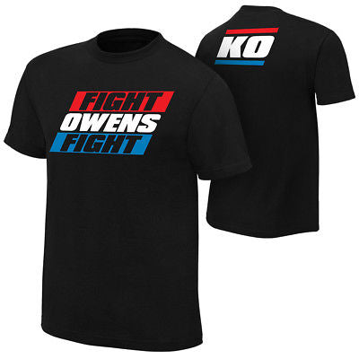 KO Red White Blue Fight Kevin Owens Fight Mens T-shirt