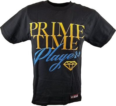Prime Time Players Tag Team Is Back WWE Authentic Mens T-shirt