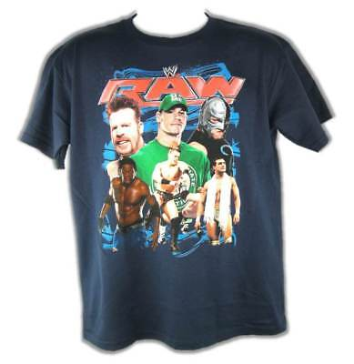 John Cena R Truth Sheamus Raw WWE T-shirt Boys Juvy Youth