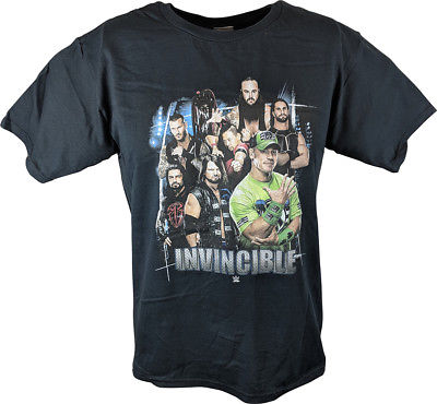 WWE Superstars Invincible Boys Juvy T-shirt Cena Styles Reigns