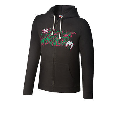 Ultimate Warrior Authentic WWE Full-Zip Hoody Sweatshirt