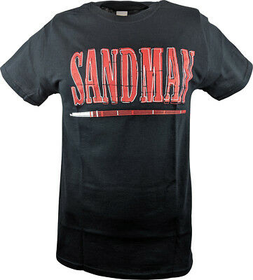 Sandman Blood Sweat Beers ECW Mens T-shirt