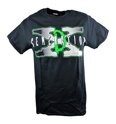 DX Break It Down D-Generation X Mens Black T-shirt