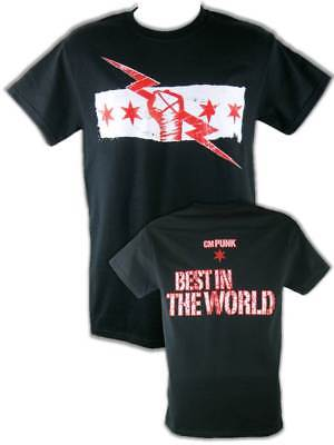 CM Punk Best In the World Mens Black Version T-shirt