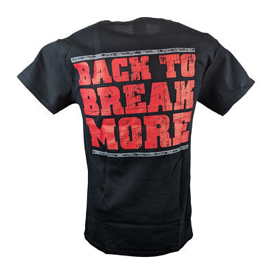 Brock Lesnar Beast Incarnate Back to Break More Mens T-shirt