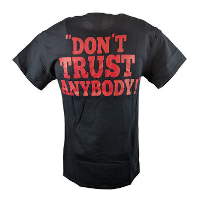 Stone Cold Steve Austin Don't Trust Anybody Rattlesnake Mens T-shirt