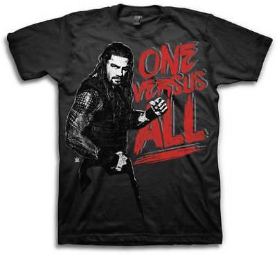 Roman Reigns One Versus All Mens Black T-shirt