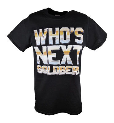 Bill Goldberg Who's Next Big and Bold WWE Mens T-shirt