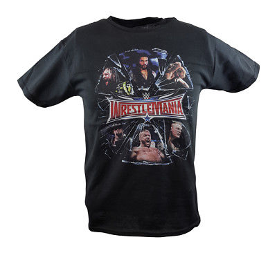 Wrestlemania Shattered WWE Boys Kids Juvy T-shirt