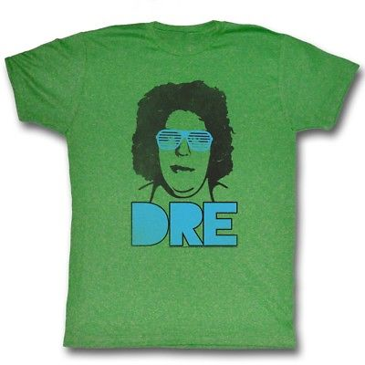 Andre the Giant DRE WWE Mens Green T-shirt