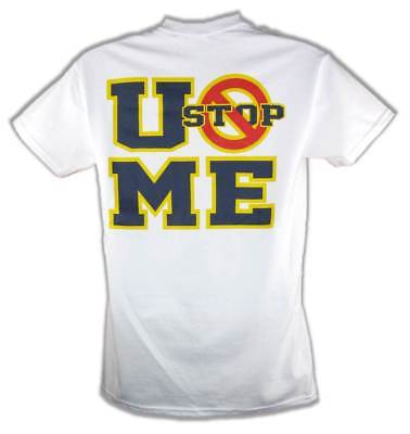 John Cena Kids U Can't Stop Me Boys Costume T-shirt Hat Wristbands